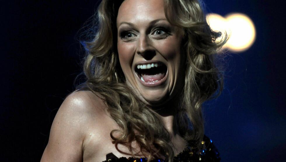 GIR SEG: Marte Stokstad bekrefter at hun ikke vil fortsette som programleder for Melodi Grand Prix. Foto: NTB Scanpix