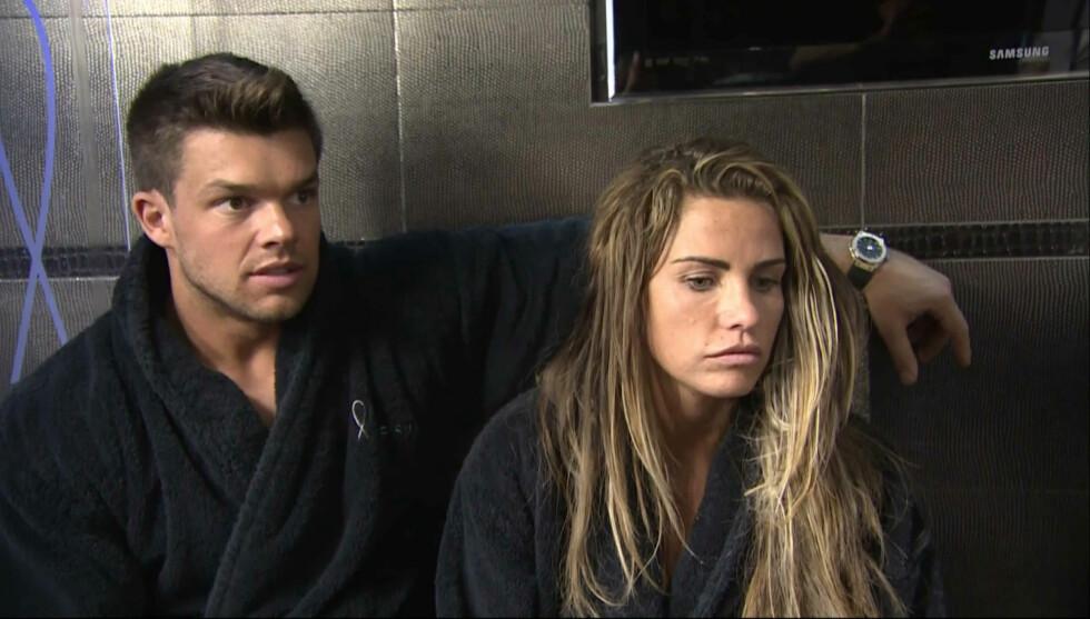 UENIGE OM BARNEPLANER: Leondro ønsker å få tre barn med Katie, men Katie er usikker på om hun klarer å tilfredsstille kravene. Foto: Fame Flynet
