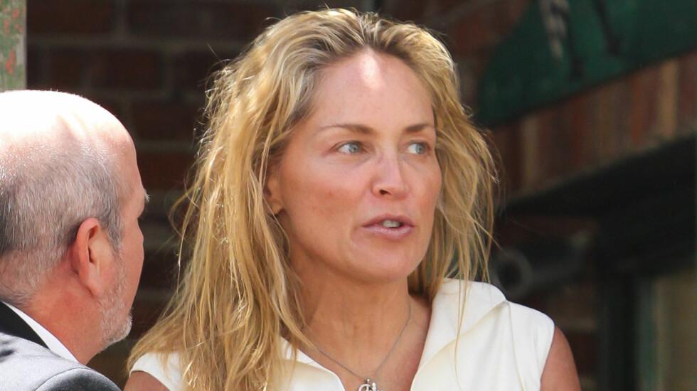 LIKER RYNKENE: Sharon Stone mener rynkene gjør henne mer interessant og virker tiltrekkende på det motsatte kjønn.  Foto: Fame Flynet Norway