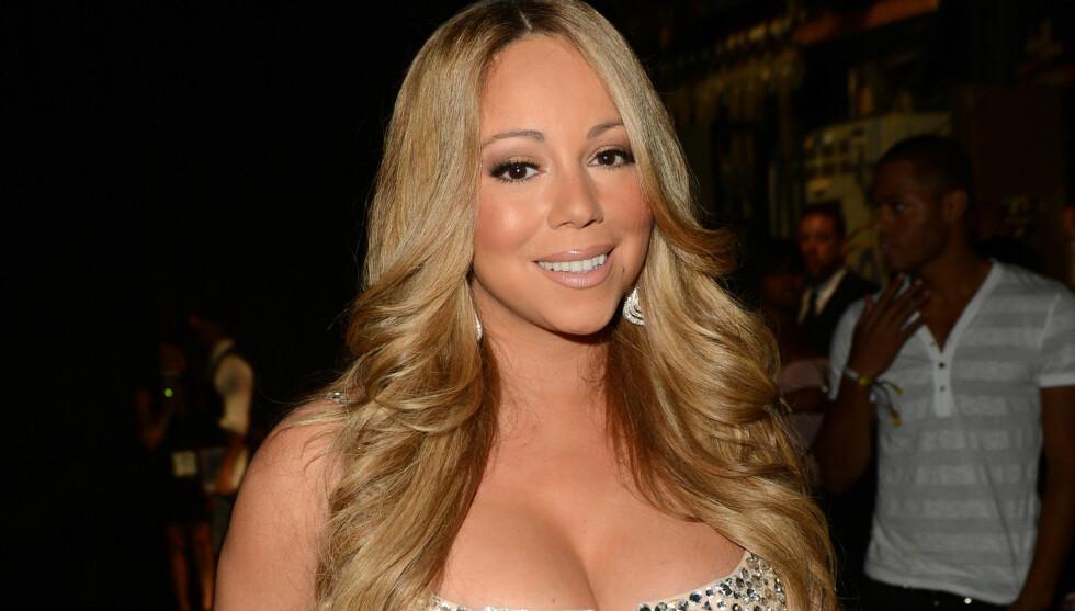 NY DOMMER: Mandag ble det kjent at popstjernen Mariah Carey skal erstatte Jennifer Lopez som dommer i «American Idol». Hvem som skal overta etter Aoerosmith-vokalist Steven Tyler er ennå ikke kjent. Her er sangerinnen avbildet under en prisutdeling i L Foto: All Over Press