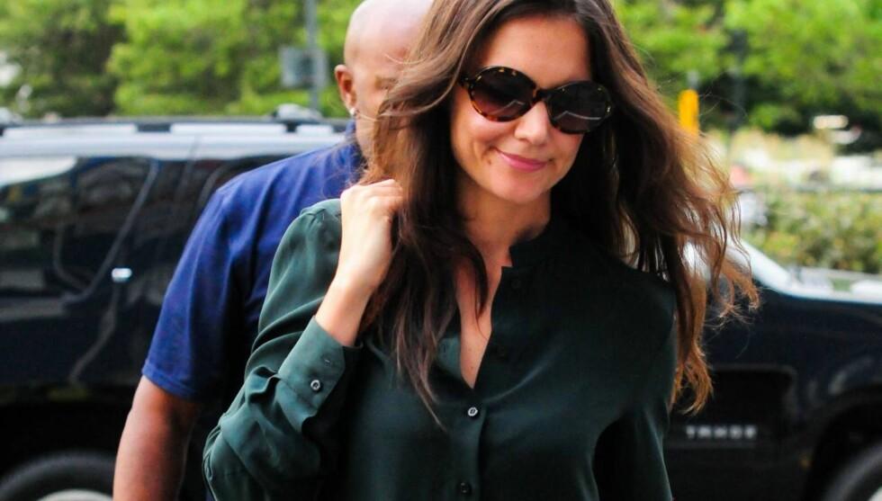 KARRIEREFOKUS: Katie Holmes har konsentrert seg om familien de siste årene, men etter bruddet fra Tom Cruise er hun klar for nye utfordringer.  Foto: All Over Press