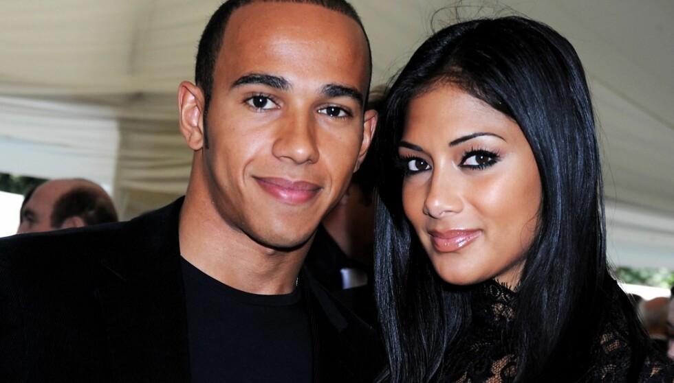 SAMMEN IGJEN: I februar ble Lewis Hamilton og Nicole Scherzinger sammen for andre gang etter at de gjorde det slutt i oktober i fjor.