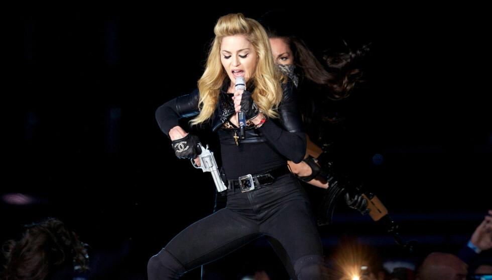 SAKSØKT: Et amerikansk plateselskap hevder Madonna har stjålet deler av en sang uten å betale for den.  Foto: All Over Press