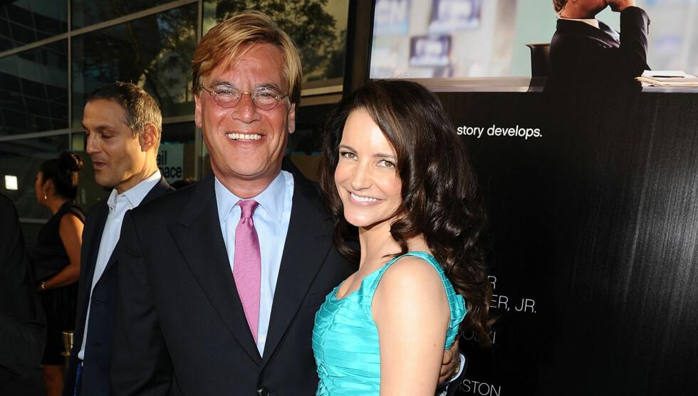 SLUTT: Forholdet mellom Aaron Sorkin og Kristin Davis skal ha tatt slutt. Foto: All Over Press