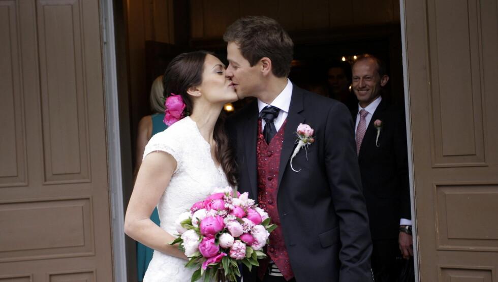 GIFTET SEG: I juni giftet det flotte paret seg på Moi i Rogaland. Foto: NTB scanpix