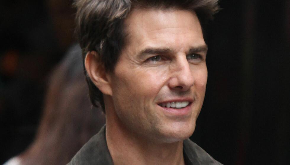 ALLE GODE TING ER FIRE?: Scientologikirken skal nå ha funnet en ny kone til Tom Cruise etter bruddet fra Katie Holmes.  Foto: FameFlynet Norway