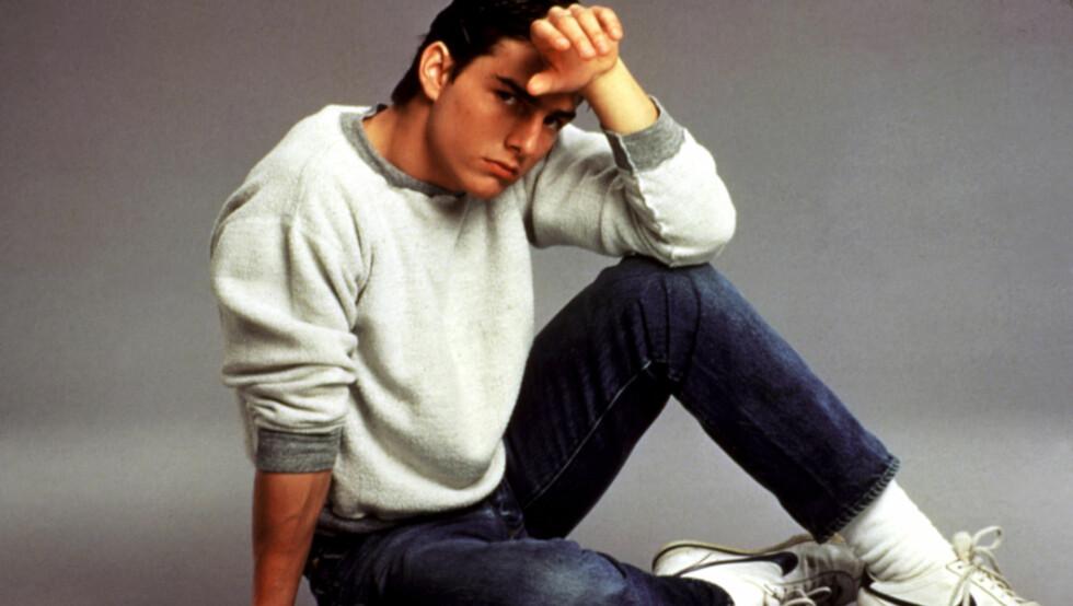SJARMØR: Tom Cruise ble alle ungjenters drøm da han slo igjennom i Hollywood på 1980-tallet - et stjerneego hans tidligere manager fikk oppleve. - Han var svært stolt av kroppen sin, sier hun om skuespillerens tendens til å flexe muskler i g-streng s Foto: All Over Press