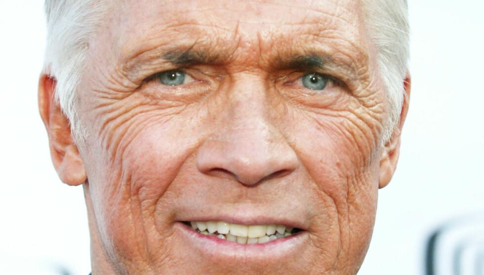 GIKK BORT: Hollywood-skuespiller Chad Everett spilte i en lang rekke TV-serier og filmer i sin 50 år lange karriere. Tirsdag tapte han kampen mot lungekreften, 75 år gammel. Foto: All Over Press