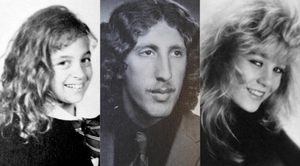 GJETT KJENDISEN: Fyldige hårfrisyrer, barnebilder eller tenåringsfotografier - gjett hvilke nåværende stjerner somer avbildet i bildegalleriet nederst i saken! Foto: All Over Pictures