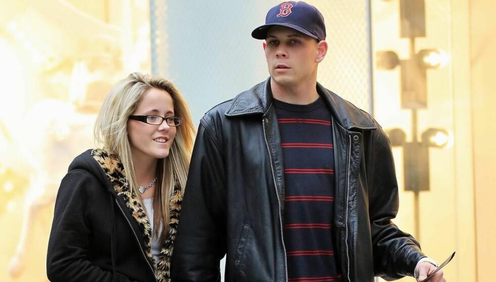 <strong>ARRESTERT:</strong> Jenelle Evans og forloveden Gary Head skal ha blitt arrestert. Han for vold og hun for besittelse av rusmidler.  Foto: All Over Press