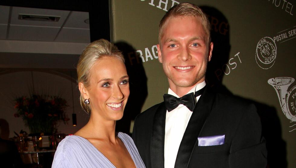 STORMFORELSKET: Katarina Flatland og Harald Dobloug. Foto: FameFlynet