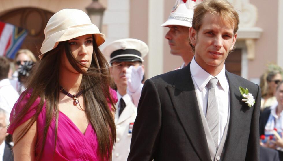 <strong>GIFTER SEG?:</strong> Andrea Casiraghi har vært sammen med Tatiana Santo Domingo siden 2004. Nå hevder franske Vogue at paret skal ha forlovet seg og planlegger bryllup neste år. Foto: Fame Flynet Norway