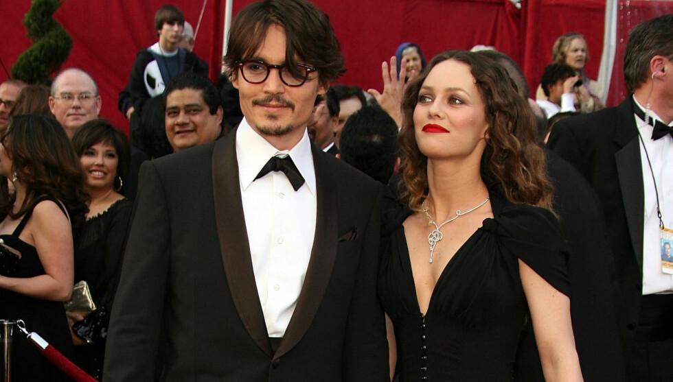 VISTE SEG IKKE SAMMEN: Det er over ett år siden Johnny Depp og Vanessa Paradis har vist seg sammen på den røde løperen. Nå bekreftes det at forholdet er over. Foto: All Over Press