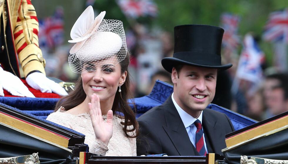 ARVET FORMUEN: På sin 30-årsdag fikk prins William pengene han arvet etter sin mor. Nå har han og kona Kate råd til å kjøpe nytt hus.  Foto: All Over Press