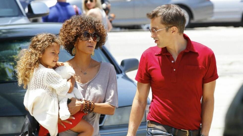KJEMPER FOR DATTEREN: I flere år har Halle Berry kjempet for omsorgen for datteren Nahla.  Foto: All Over Press