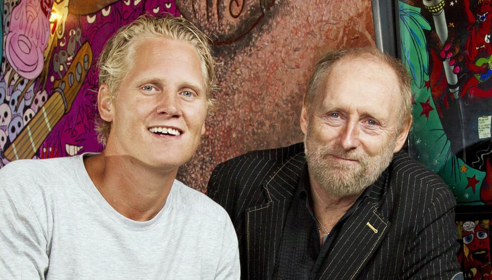 NÆRT FORHOLD: Vinni og Halvdan ble gode venner etter å ha deltatt i «Hver gang vi møtes». Foto: Henning Jensen/Se og Hør