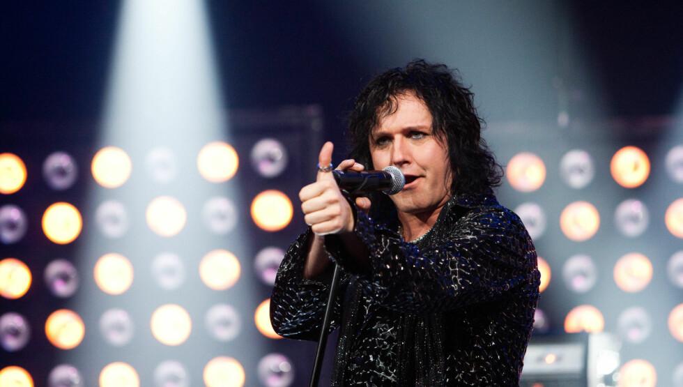 <strong>TIL USA:</strong> Åge Sten Nilsen skriver på sin hjemmeside at han planlegger å sette opp sitt populære hyllest-show til gruppen Queen i den amerikanske byen Las Vegas. Foto: Fame Flynet Norway