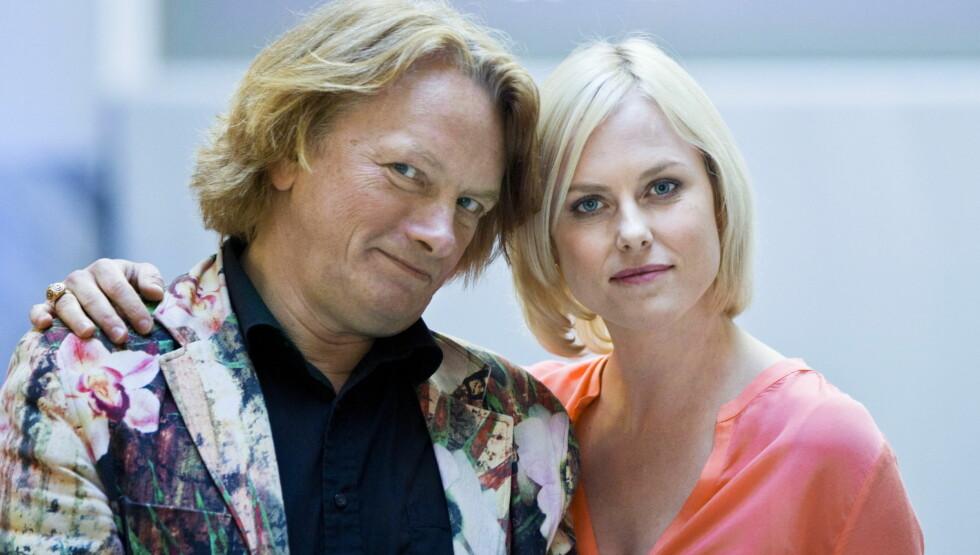 <strong>- STERKT SIGNAL:</strong> Både juryformann Jan Eggum og programleder og skuespiller Ingrid Bolsø Berdal synes det er beklagelig at kun to kvinnelige hovedroller ble nominert til Amandapris i år. Foto: NTB Scanpix/Berit Roald