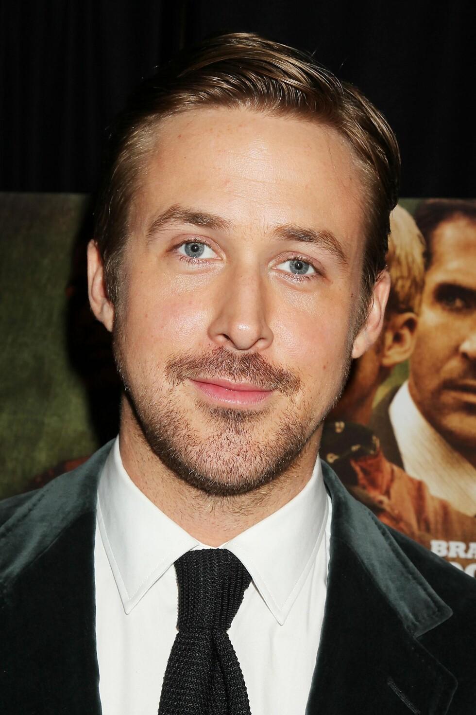KJEKKAS: Ryan Gosling er en av de mest ettertraktede kjendisene i Hollywood.  Foto: ALL OVER PRESS
