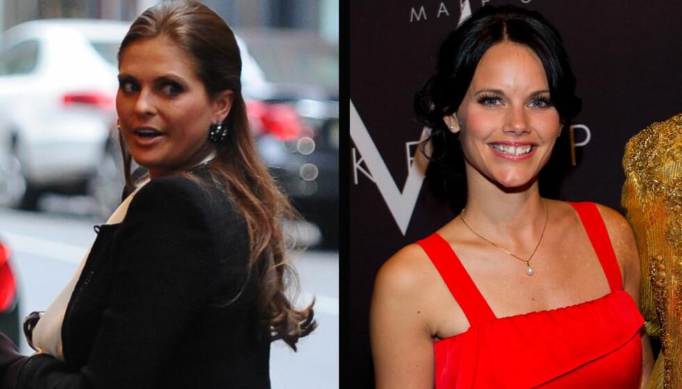 IKKE FORNØYD: Prinsesse Madeleine skal ha gjort det klart at hun ikke er noen venninne av sin brors glamourmodell-kjæreste, og vil ikke be Sofia Hellqvist til sin 30-års bursdagsfest Foto: Fame Flynet Norway
