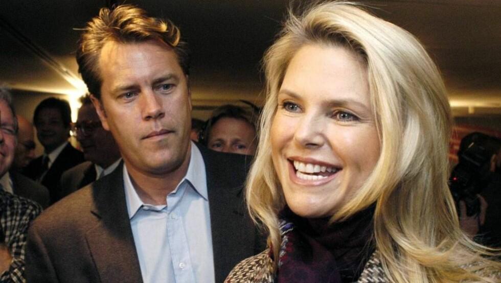 <strong>EVIG TAUSHET:</strong> Peter Cook og Christie Brinkley skal etter planen aldri ha noe med hverandre å gjøre igjen. Til tross for at de deler omsorgen for to barn sammen.  Foto: AP
