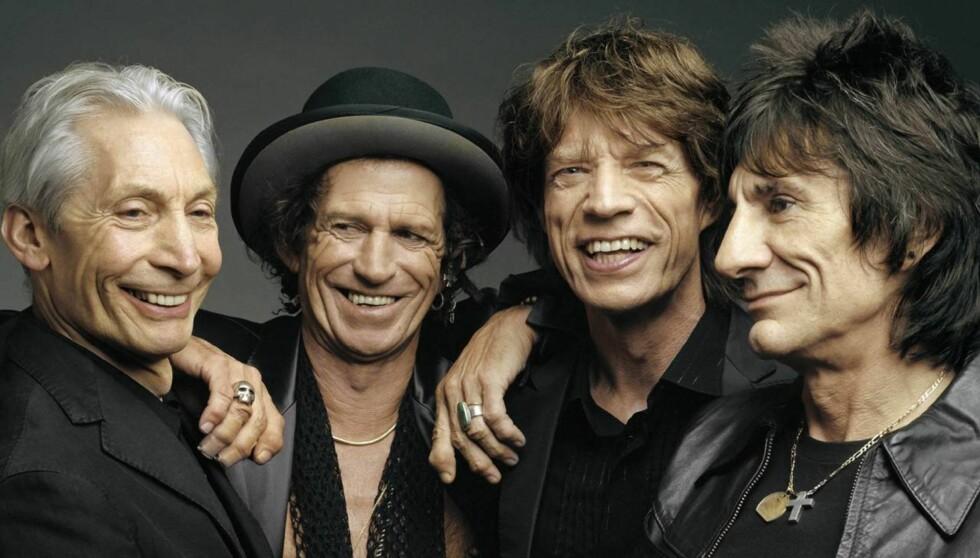 LIVSLANGE KARRIERER: Rolling Stones holdt sin første opptreden på Marquee Cub i London, den 12 juli, 1962. Foto: AP/Scanpix