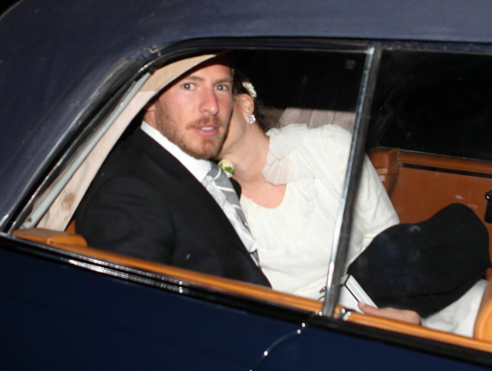 OVERNATTET PÅ RANCH: Etter festen tok Will Kopelman og Drew Barrymore turen til ranchen San Ysidro, hvor de tilbragte bryllupsnatten. Foto: Stella Pictures