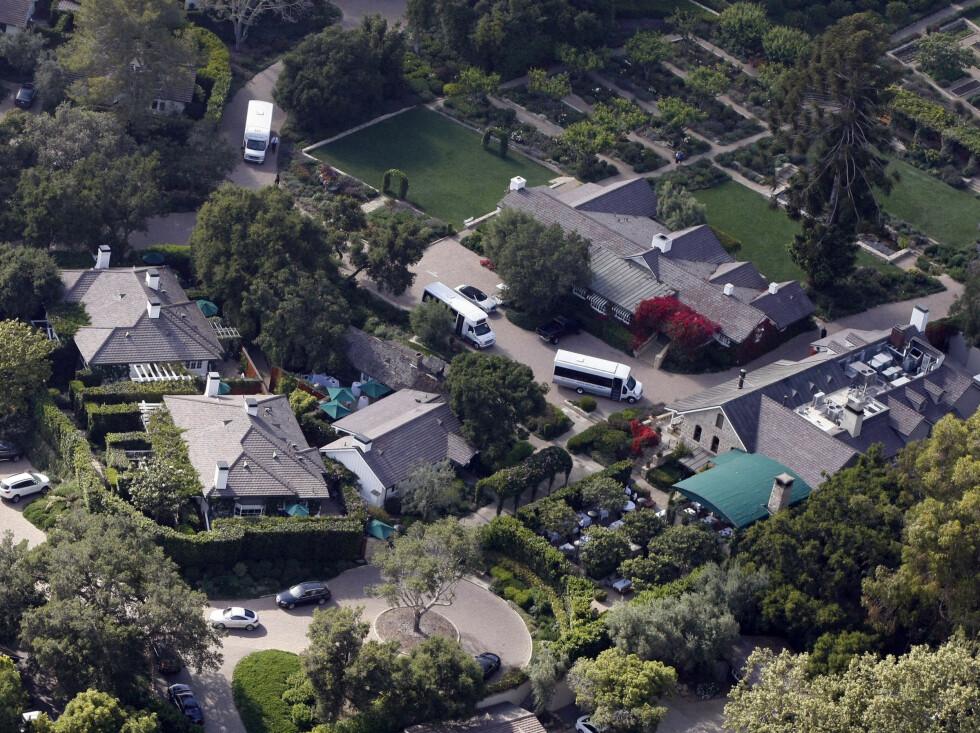 GIFT I HAGEN: Drew Barrymore valgte sin egen hage i California da hun skulle finne sted å gifte seg Foto: Stella Pictures