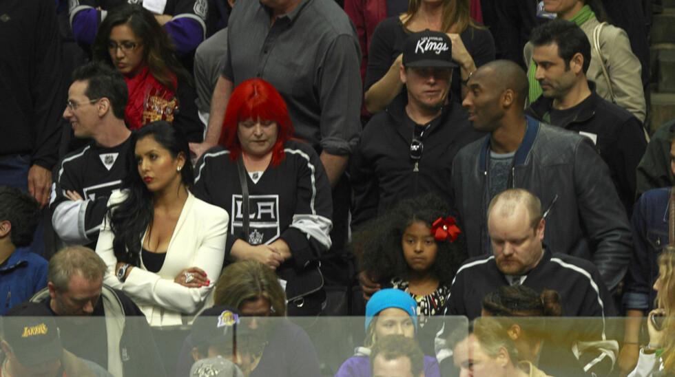 REPARERER FORHOLDET: Kobe Bryant og konen Vanessa prøver å finne tilbake til hverandre etter at han ble avslørt som utro.  Foto: FameFlynet Norway