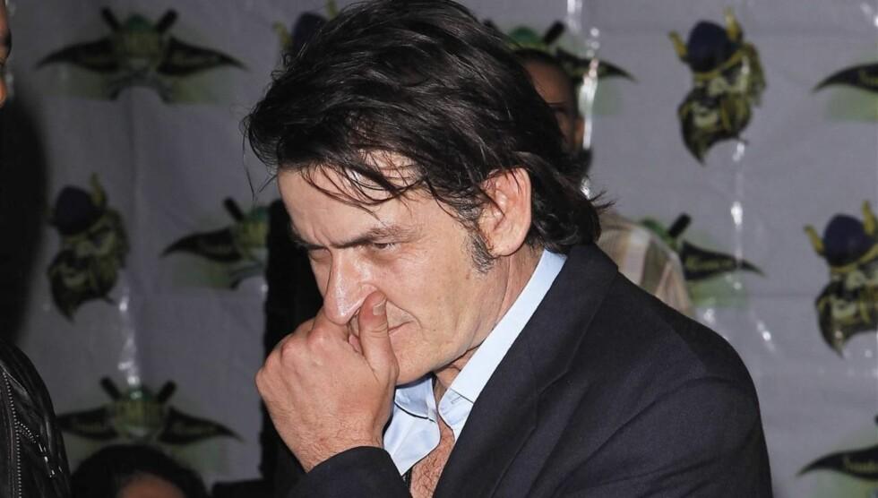 VAR 15: Charlie Sheen var 15 år gammel da han mistet jomfrudommen - med en prostituert kvinne. Foto: All Over Press