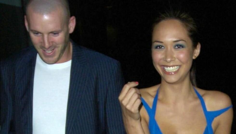 EN GANG VAR DE LYKKELIGE: Myleene Klass og Graham Quinn har vært sammen i 11 år, før han plutselig forlot henne for to måneder siden. Her er de sammen i 2005. Foto: Fame Flynet Norway