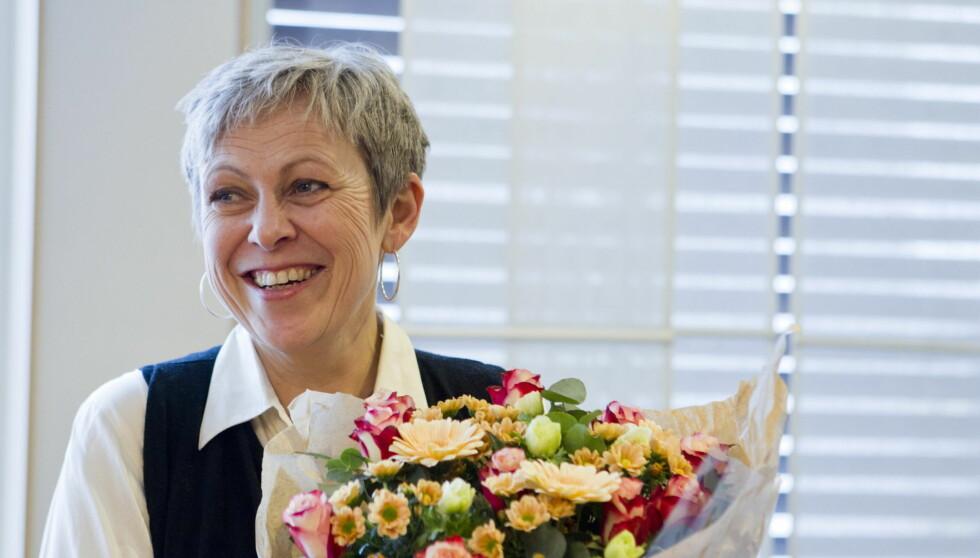 TØFF KAMP: Turid Birkeland gleder seg over at hun i dag er frisk fra benmargsykdommen som truet med å ta livet av henne for kun ett år siden. Foto: NTB scanpix