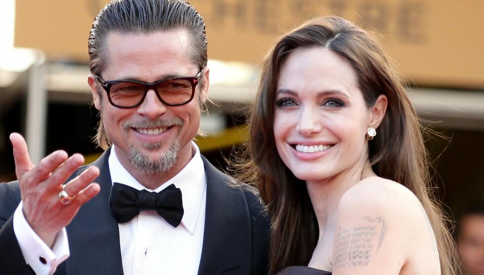 UTSATT PÅ UBESTEMT TID: Kilder hevder Brad Pitt ønsket å gifte seg i sommer, men Angelinas hektiske hverdag gjør det hele til et fullstendig kaos. Foto: All Over Press