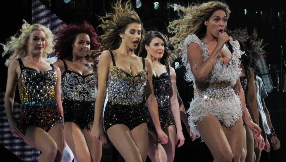 MAMMAPERMEN SLUTT: Beyonce sang for ett fullsatt evel Ovation Hall i Atlantic City lørdag.  Foto: All Over Press