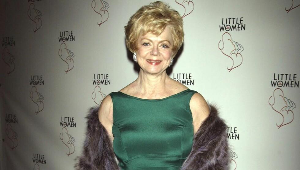 DØDE: Skuespilleren døde tirsdag etter lang tids sykeleie. Hun ble 71 år gammel. Foto: All Over Press