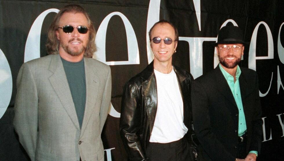 ENESTE IGJEN: Barry Gibb til venstre, har mistet begge sine brødre Robin Gibb og Maurice Gibb.  Foto: Scanpix NTB
