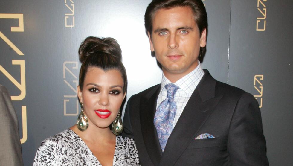 KASTET HAM UT: Kourtney Kardashian skal ha kastet ut Scott Disick fra parets hjem i Los Angeles. Foto: All Over Press