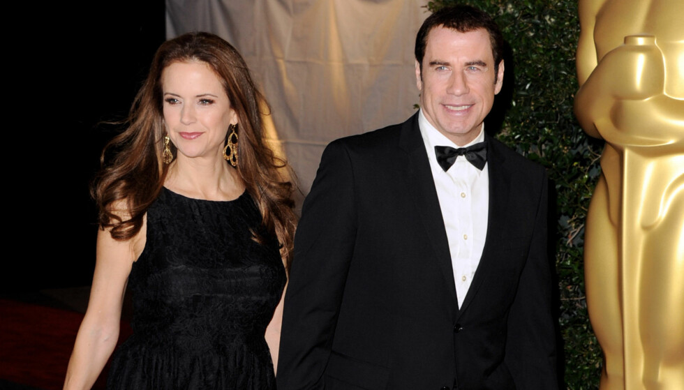 SLUTT: Nå har Kelly Preston blitt lei av Travoltas dobbeltliv. National Enquirer skriver at ekteskapet er over. Foto: All Over Press