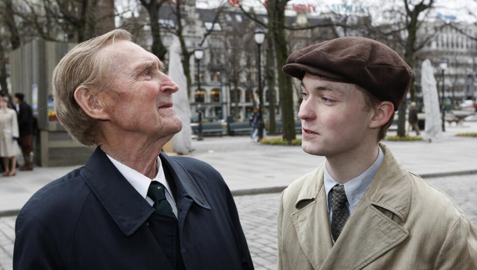 SPILTE SØNSTEBY: Knut Joner spilte Gunnar Sønsteby i Max Manus. Han reagerer på Sønstebys bortgang med vemod. Foto: NTB scanpix