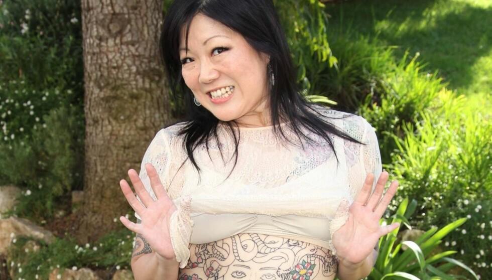 SJOKKERTE PÅ DIREKTEN: Skuespilleren og komikeren Margaret Cho sjokkerte under et intervju på amerikansk TV, da hun sa at hun ikke ønsket å få et mentalt tilbakestående barn. Foto: All Over Press