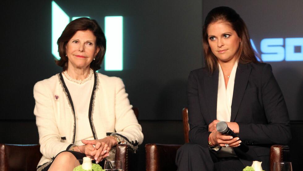 VAR TILSTEDE: Mens prinsessen glimret med sitt fravær, var dronning Silvia tilstede i den kongelige begravelsen i Sverige. Foto: Stella Pictures