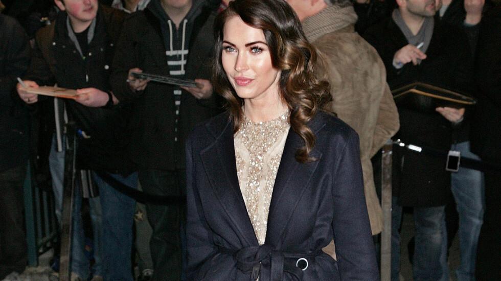 HEMMELIGHETSFULL: Megan Fox vil verken bekrefte eller avkrefte om hun er gravid.  Foto: All Over Press