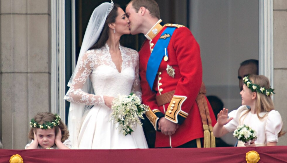 ETT ÅR SIDEN: Prins William og Kate giftet seg 29. april 2011, og ikke alle satte pris på jubelen.  Foto: All Over Press