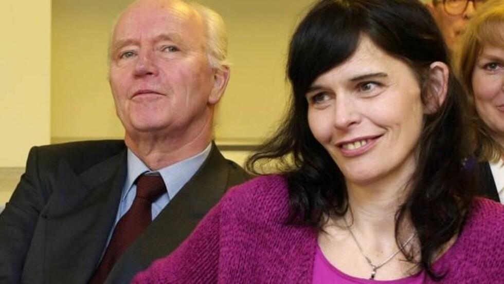STOLT AV DATTEREN: Thorvald Stoltenberg sier til Dagbladet at han aldri har skammet seg over narkotikaproblemene til sin datter Nini (bildet). Foto: SCANPIX