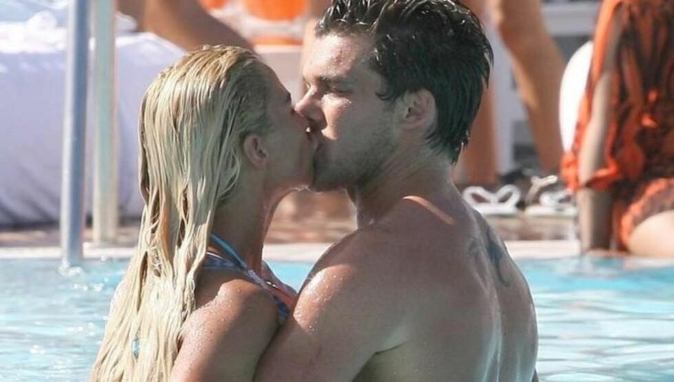 FORLOVET SEG: En talsmann for modellen og TV-stjernen  Katie Price bekrefter til The Sun at hun har forlovet seg med Leonardo Penna. Foto: Stella Pictures