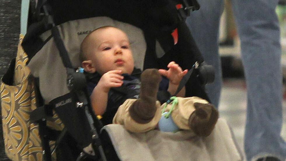 SYV MÅNEDER: Xander har rukket å bli syv måneder gammel. Foto: Stella Pictures