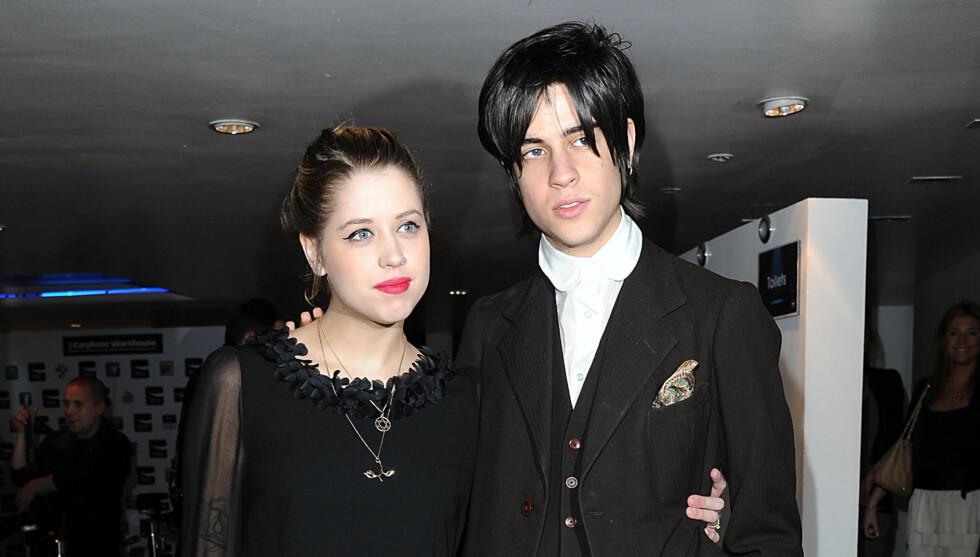 <strong>MERKELIG NAVN:</strong> Peaches Geldof og Thomas Cohens sønn har fått navnet Astala Dylan Willow. Foto: Stella Pictures