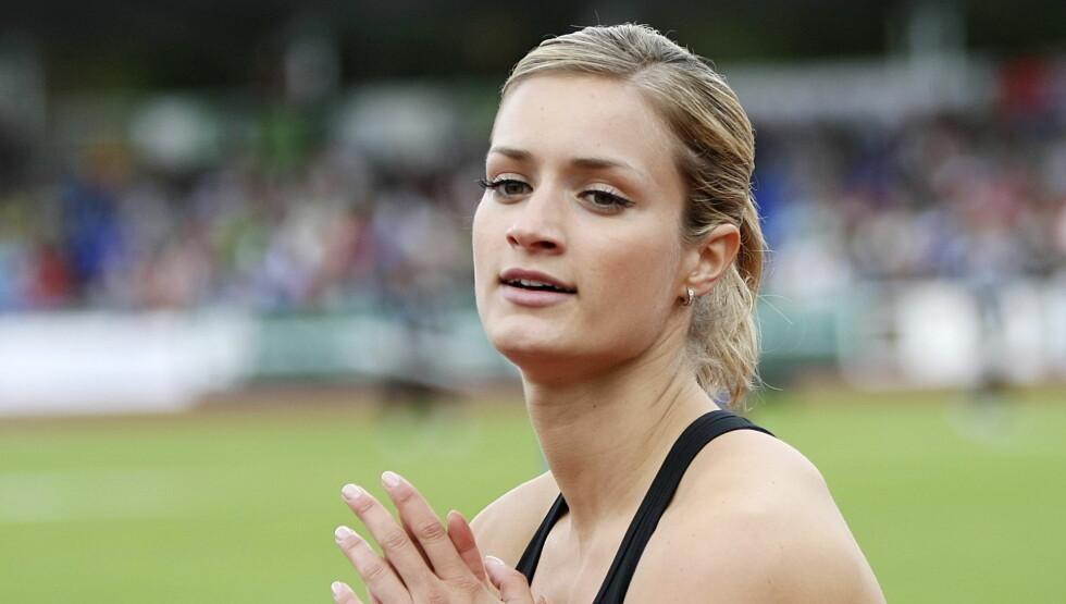LYKKELIG: Vukicevic forteller at hun aldri har vært så lykkelig som hun er nå. Foto: Scanpix