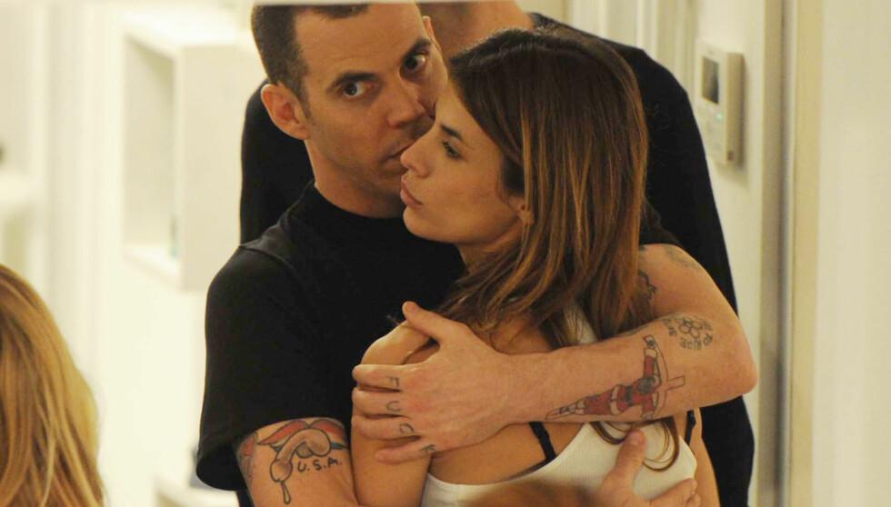DUMPET: Steve-O dumpet Elisabetta Canalis etter et tre måneder langt forhold fordi han frykter at hennes ville livsstil truer han edruelige liv. Foto: STELLA PICTURES