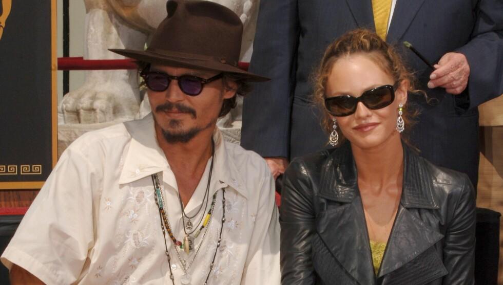 SLAKTER RYKTENE: Det har i flere måneder blitt skrevet at forholdet mellom Depp og Vanessa Paradis er over, men nå slår Depp knallhardt tilbake mot ryktene. Foto: Stella Pictures